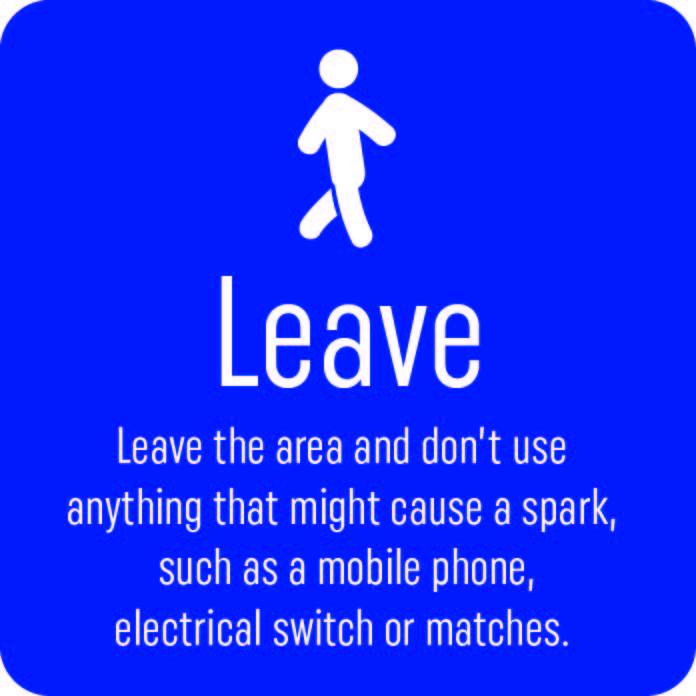 leave - gas leak