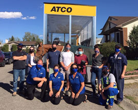 ATCO Team and friends
